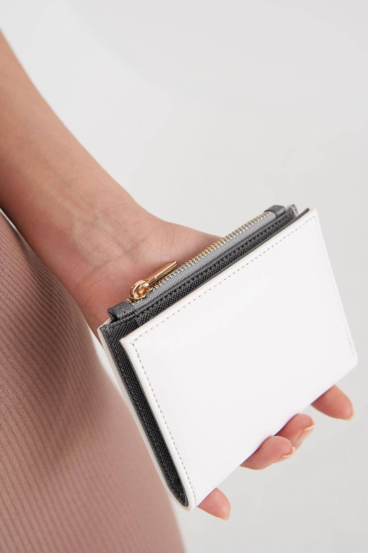 Addax Kadın Beyaz Cüzdan Czdn79 - F6 Adx-0000023259 2