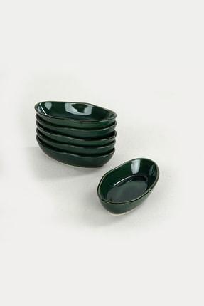 Keramika Zümrüt Deniz Çerezlik / Sosluk 14 cm 6 Adet 1
