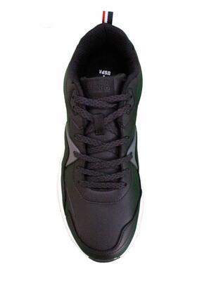 US Polo Assn JIMMY Siyah Erkek Sneaker Ayakkabı 100536422 2