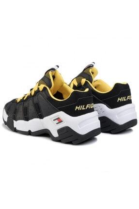 Tommy Hilfiger Erkek Siyah Tommy Jeans Heritage Chunky Sneaker Em0em00342 U005145 3