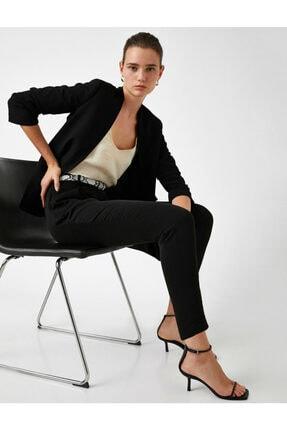 Kadın Siyah Jeans 0YAK42805UW