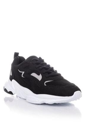 Tonny Black Unısex Siyah Beyaz Spor Ayakkabı Tb251 2