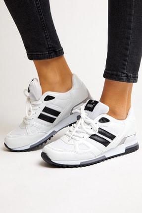 Tonny Black Beyaz Unisex Sneaker TB282-0 2