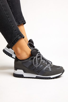 Tonny Black Füme Unisex Sneaker TB282-0 1