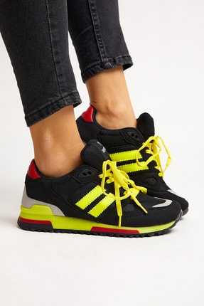 Tonny Black Siyah Sarı Unisex Sneaker TB282-0 1