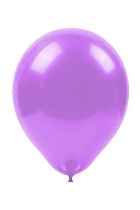 Kikajoy Pastel Mor Balon 12'li 0