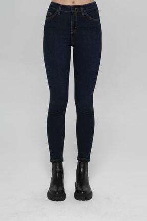 CROSS JEANS Judy Lacivert Yüksek Bel Skinny Fit Jean Pantolon 1