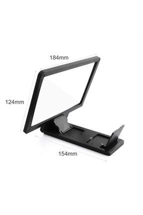 TSS Accessory Cep Telefon Ekran Büyütücü-Yansıtıcı 8 inç 3