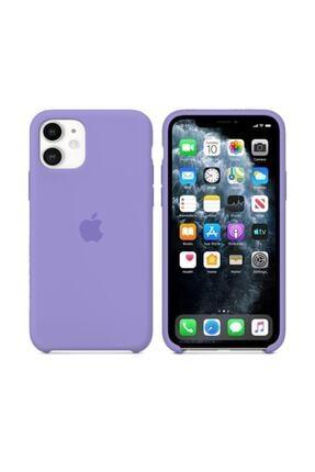 Nezih Case Iphone 11 Lila Silikon Kılıf 0