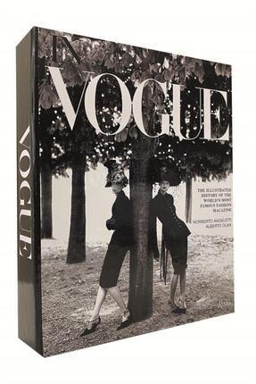 RetroLazer Vogue Kadınlar Dekoratif Kitap Kutu Aksesuar 0