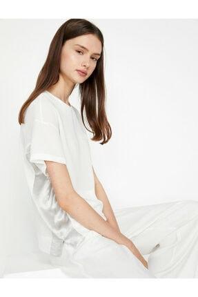 Koton Kadın Beyaz Bluz 0