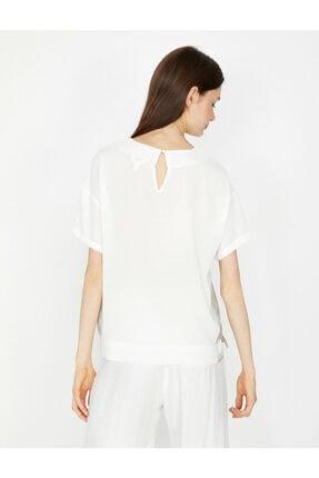 Koton Kadın Beyaz Bluz 4