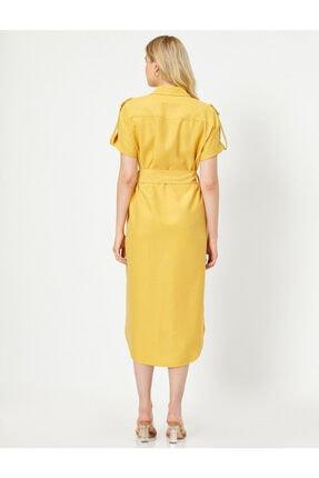 Koton Cep Detayli Gömlek Elbise 3
