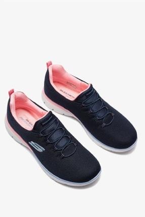 Skechers SUMMITS - GLOWING GLITZ Kadın Lacivert Spor Ayakkabı 3