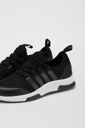 Muggo Unisex Siyah Sneaker Ayakkabı Mgforce01 3