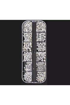 ATAMAN Gümüş Tırnak Süsleme Taşı Ts13 0