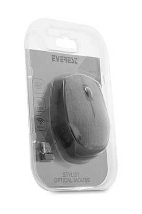 Everest Km-218 Usb Gri 2.4ghz Kumaş Yüzey Kablosuz Mouse 4