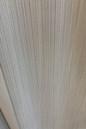perfect curtain Pilesiz Çizgili Tül Düz Dikiş 1
