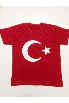 Minies Bayrak Baskılı Çocuk T-Shirt 0
