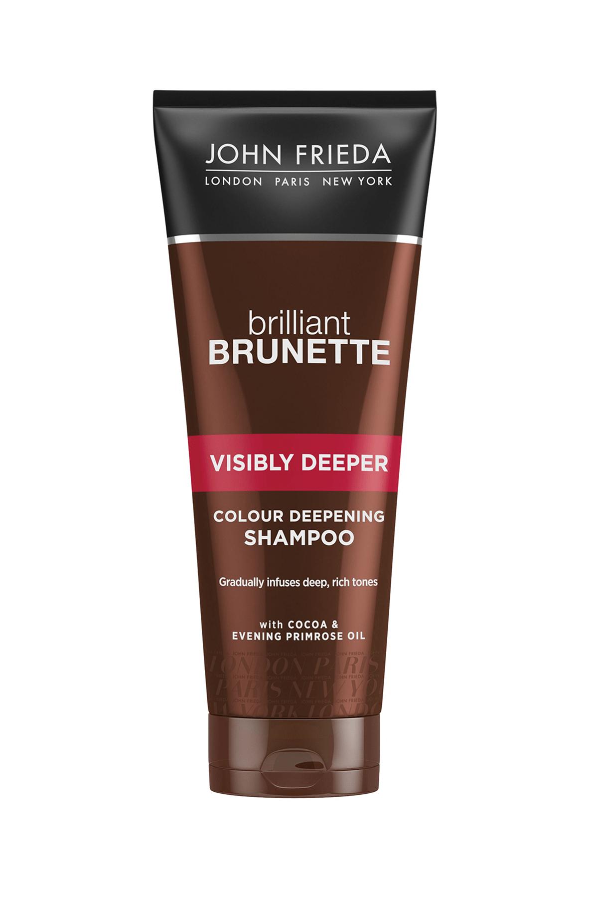 John Frieda Brilliant Brunette Visibly Deeper Şampuan 250ml 1