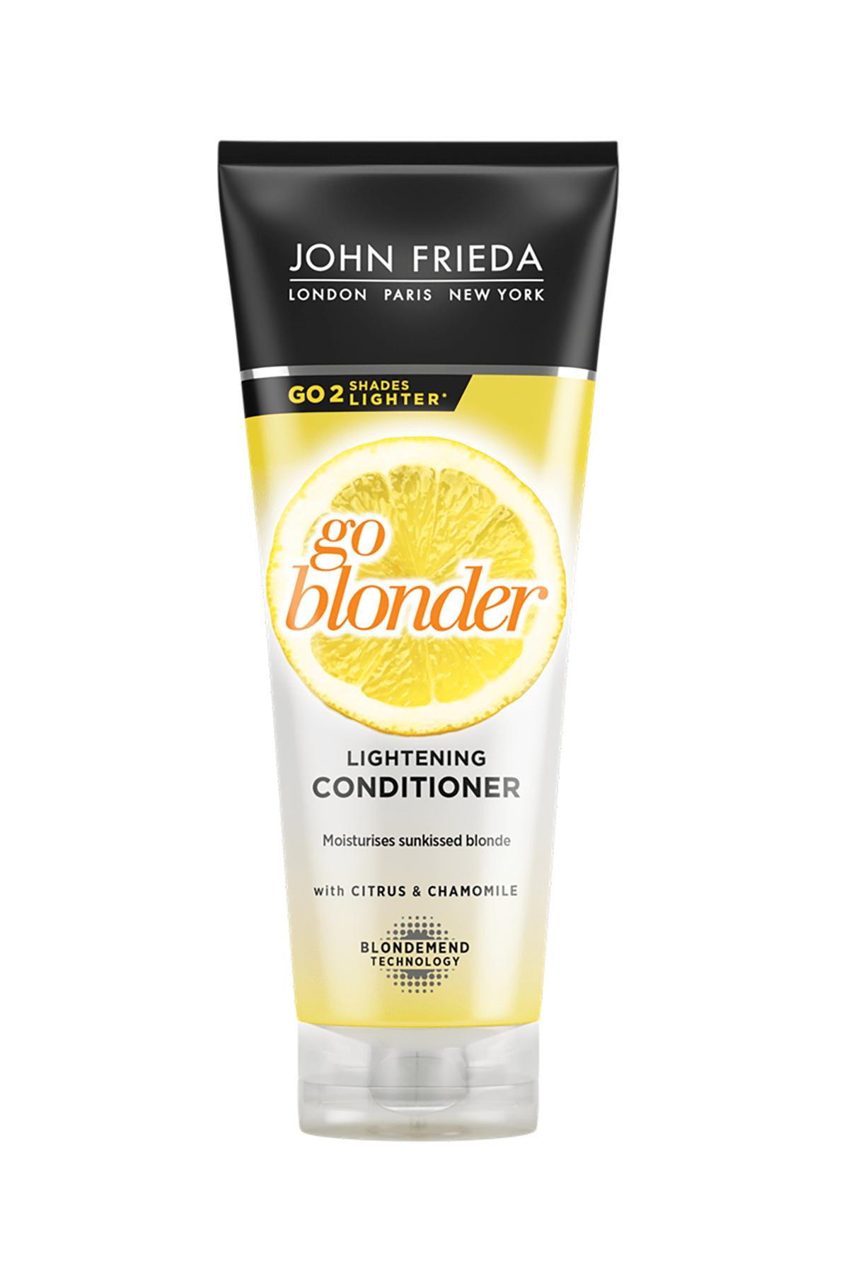 John Frieda Sarı Saçlara Özel Işıltı Veren Saç Bakım Kremi 250 ml 0