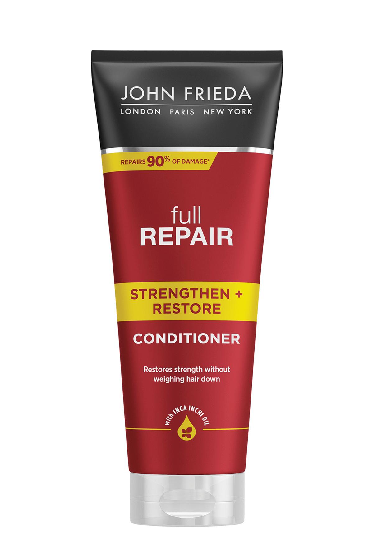 John Frieda Hassas Ve Hasar Görmüş Saçlar İçin Onarıcı Saç Bakım Kremi 250 ml 0