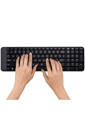 logitech MK220 Kablosuz Klavye & Mouse Seti-Siyah 3