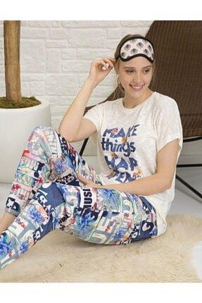 Pierre Cardin 2 Li Ev Kıyafeti Pijama 1095 1