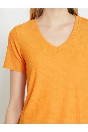 Koton Kadın Kisa Kollu T-shirt 4