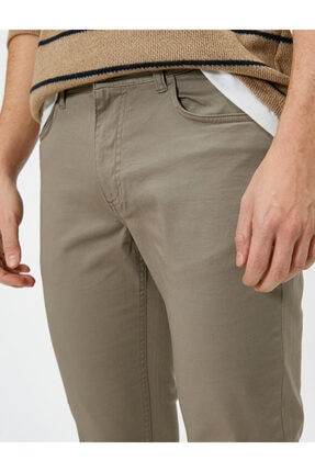 Koton Cep Detayli Slim Fit Pantolon 4