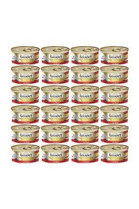 Gourmet Gold Parça Etli Sığır Etli Kedi Konservesi 85 Gr x 24 Adet 0
