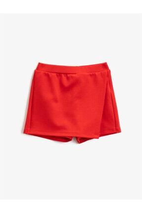 Koton Kız Çocuk Kırmızı Mini Etek 2