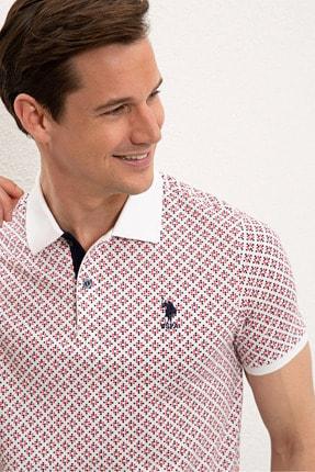 US Polo Assn Beyaz Erkek T-Shirt 1