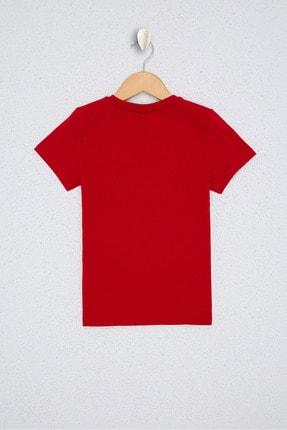 US Polo Assn Kırmızı Erkek Çocuk T-Shirt 1