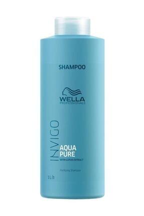 Wella İnvigo Aqua Pure Purifying Şampuan 1000 ml 0