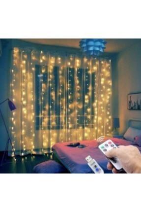1001 LED Kumandalı 8 Ayrı Moda Sahip 3mx3m ( 300 Cm X 300 Cm ) Perde Led Peri Led Usb 3