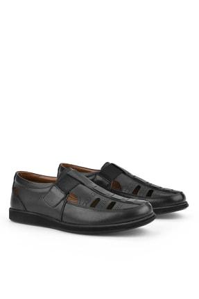Ziya , Erkek Hakiki Deri Ayakkabı 111423 230 Sıyah 1
