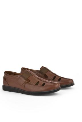 Ziya , Erkek Hakiki Deri Ayakkabı 111423 230 Taba 1