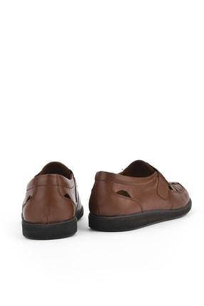 Ziya , Erkek Hakiki Deri Ayakkabı 111423 230 Taba 2