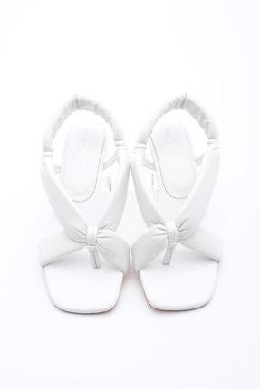 Marjin Kadın Parmak Arası Topuklu Sandalet Eltazbeyaz 0