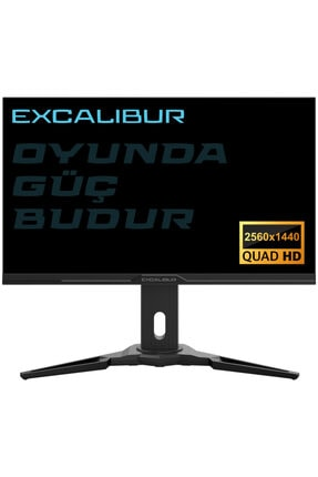 "Excalibur E27QHD-G 27"" 144Hz 1ms FreeSync + G-Sync 2K QHD LED Monitör Casper"