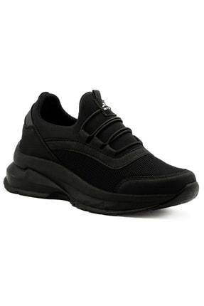 LETAO Kadın Siyah Spor Yürüyüş Ayakkabı 2