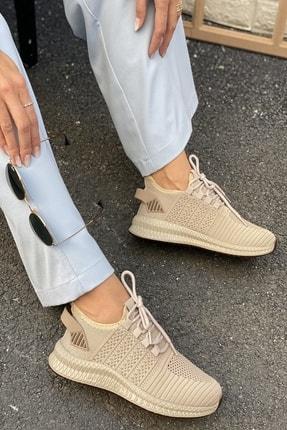 İnan Ayakkabı Unisex Kahve Triko Ayakkabı&Sneaker 21i500 2