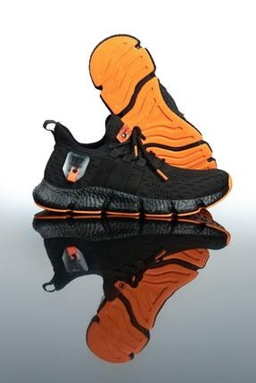 LETOON Erkek Siyah Spor Ayakkabı Te7 1
