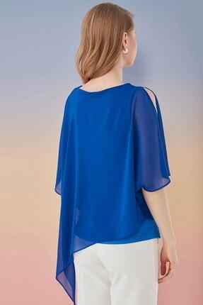 Journey Kadın Saks Bluz 1