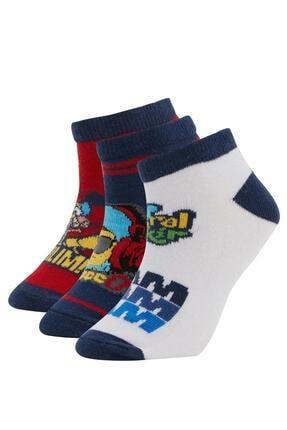 Defacto Erkek Çocuk Patik Çorap 0