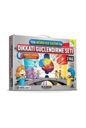 Adeda Yayınları 3 Yaş Dikkati Güçlendirme Seti - Osman Abalı 0