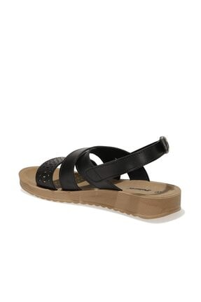 Polaris 161938.z1fx Siyah Kadın Comfort Sandalet 2