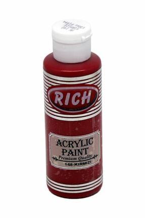 Rich Akrilik Boya No:148 Kırmızı 130 ml 0