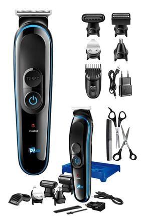 İŞTEBUKACMAZ Özel Erkek Bakım Tıraş Makinesi 8 Ürün Bir Arada Saç Sakal Burun Kulak Ense 0